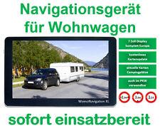 Navigationsgerät fü Wohnwagen, 7 Zoll, ganz Europa installiert, GPS, startbereit