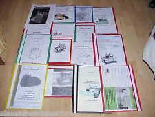 Toyota SL1T / SLITX 4 Thread Overlocker Instruction / Owners Manual