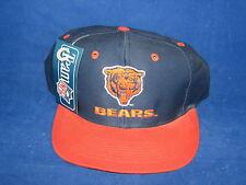 Vtg NFL Football Chicago Bears Snapback Cap Hat New NWT Logo 7