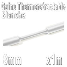 Gaine Thermo Rétractable 2:1 - Diam. 8 mm - Blanc - 1m