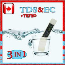 NEW DIGITAL TDS EC METER TESTER-Large LCD screen-high accurate-multi-function#B1