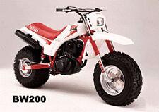 1986 1987 1988 Yamaha Big Wheel BW200 Plastic Kit BW 200