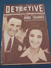 Détective 1952 334 AUCH SAINT PIERRE CERNIèRES LAMBERT BRAUX JOINVILLE CHAPLIN