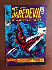 Daredevil #39 (1968) 7.5 VF Marvel Key Issue Comic Silver Age Stan Lee Gene Cola