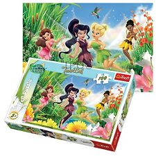 Trefl 100 Piece Kids Girls Disney Tinkerbell Cheerful Fairies Jigsaw Puzzle NEW
