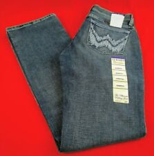 Womens Wrangler Q-Baby WRQ20WL Boot Cut Mid Rise Stretch Riding Jeans 5/6X30