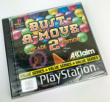 BUST-A-MOVE 2 (SCELLÉ!) - Sony PlayStation 1 ARCADE EDITION JEU (PS1 PAL) (1996)