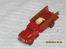 Golden 1940s Red Ford Pumper Fire truck