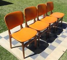 Mid Century Retro 4 Elite Dinning Chairs