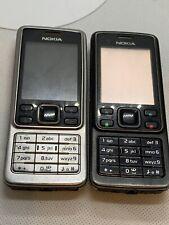 2 X Faulty Nokia 6300 Mobile Phone