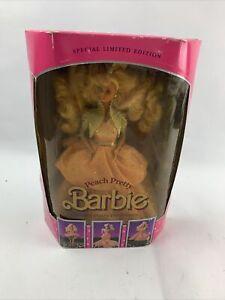 Peach Pretty Barbie Doll Special Limited Edition 1989 #4870 Vintage Mattel NIB
