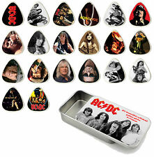 AC/DC Guitar Pick Quality Gift Tin - Set of 20