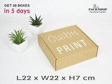 Packaging Boxes With Lids Cardboard Custom Printed Box With Your Logo Wholesale