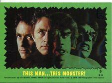 Topps 75th Anniversary Base Card 77 The Incredible Hulk