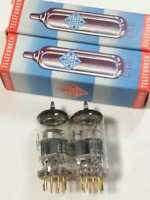 07340 Telefunken Ecc803S 2 Tubes Tested On Tv-7D/U Vacuum Tube With Diamond Mark