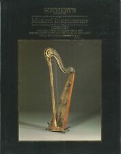 SOTHEBY'S MUSICAL INSTRUMENTS Violin Viola Woodwind Gagliano Rugeri Amati Cat 88