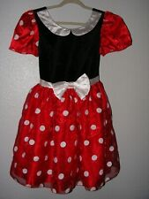 Disney Store Minnie Mouse Adult Costume Size Small