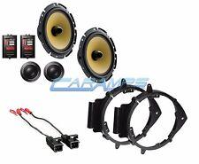 "NEW PIONEER 6.75"" CAR STEREO AUDIO SPEAKERS W/ DOOR MOUNTING BRACKETS & HARNESS"
