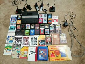 Atari 7800 ProSystem Console Bundle 22 Game Lot w/ Controllers Works/Tested