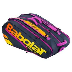 New BabolaT Pure Aero RH12 Rafa Tennis Bag Purple Orange Black 363 751215