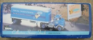 Ertl 1/25 1954 GMC Semi Truck Collector Series Tractor trailer Ideal Industries