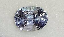 blue-purple TANZANITE oval tanzania,1.75ct,8x6x5mm,TZ-A14,natural crystal