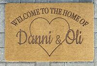 Personalised Doormat  Door Mat Custom Doormat Indoor Outdoor Use Any Design