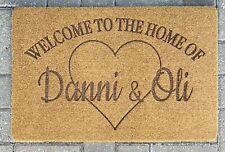 Personalised Doormat  Door Mat Custom Doormat Indoor Outdoor Use Any Design