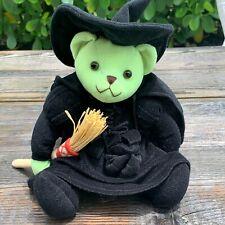 "Wizard of Oz Wicked Witch Bear Plush Stuffed Animal Turner Entertainment 7.5"""