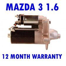 MAZDA 3 1.6 2004 2005 2006 2007 2008 2009 2010 - 2015 STARTER MOTOR