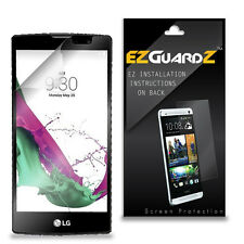 4X EZguardz LCD Screen Protector Skin Cover Shield HD 4X For LG G4c (Clear)