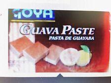 Goya Guava Paste  (  Pasta De Guayaba )  14 oz