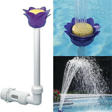 Accessory Summer Waterfall Above  Ground Pool Fountain Flower Sprinkler Sprayer