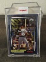 2021 Topps PROJECT 70 NY Yankees Don Mattingly ARTWORK By Claw Money IN HAND!!