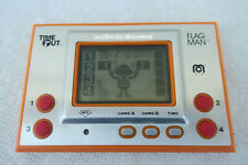 FLAGMAN TIME OUT MEGO RARE NINTENDO GAME AND WATCH CLONE FLAG MAN LOW SERIAL NO.