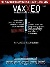 Vaxxed: From Cover Up To Catastrophe DVD, UK Version PAL Format-Region Free, New