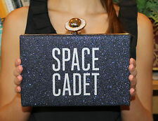 """KATE SPADE """"OVER THE MOON JETT"""" SPACE CADET NIGHT SKY CLUTCH BAG"""