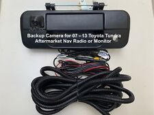 Rearview Backup Camera for 07-13 Toyota Tundra Aftermarket Nav Radio or Monitor