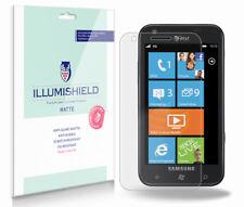 iLLumiShield Matte Screen Protector w Anti-Glare/Print 3x for Samsung Focus 2