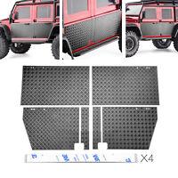 RC Car Door Metal Anti-skid Plate Set for 1/10 TRAXXAS TRX-4 Defender RC Crawler