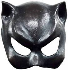 Bat Man Gato Negro Mujer Máscara felino La mitad Látex Mascarilla Fancy Dress Costume New