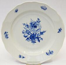 Meissen Porzellan Teller Suppenteller Blaue Blume 2. Wahl Ø 25 cm