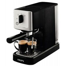 KRUPS xp3440 Calvi noir-acier inoxydable Machine à Expresso Café Automate 1460w 1,1l
