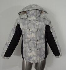 Turbine youth warm insulated snowboard jacket black/gray XL