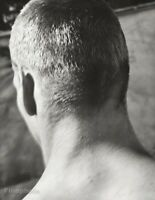 1983 Bruce Weber UCLA Swimmer Male Athlete Head Hair Sports Photo Gravure Art