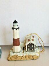 Harbour Lights Christmas Ornament 1998: Montauk, New York, Lighthouse Box