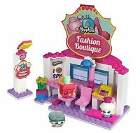 Shopkins Kinstructions Shopping Pack Fashion Boutique Building Set Multi-Color