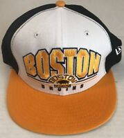 Boston Bruins NHL Embroidered New Era 9FIFTY Snapback Hat Cap