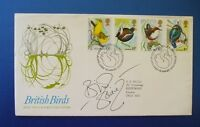 1981 BRITISH BIRDS FIRST DAY COVER SIGNED BY BILL ODDIE