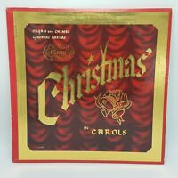 Robert Rheims LP Rheims LP 6006  Merry Christmas In Carols - Red Vinyl - NM